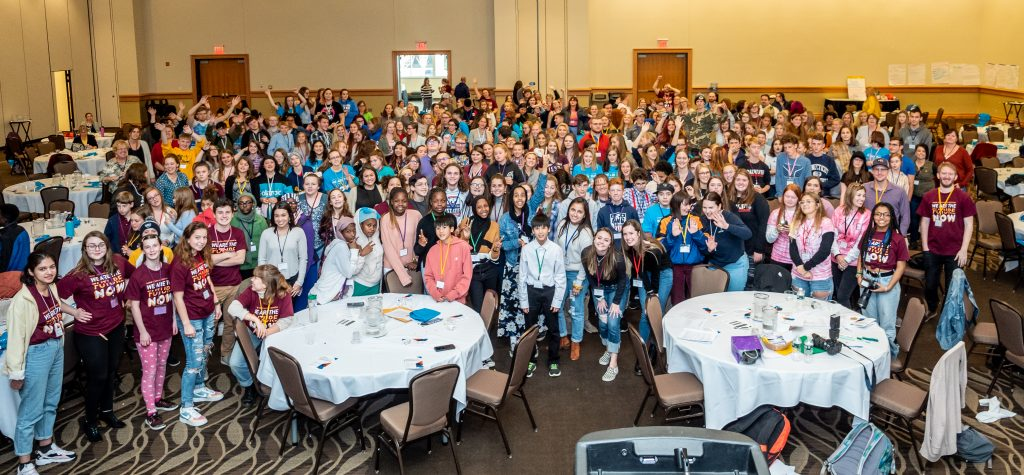 Group picture of everyone who attended the 2019 conference